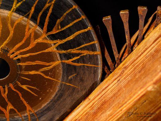 """Iris Lindner: """"Discus"""" (Detail)"""