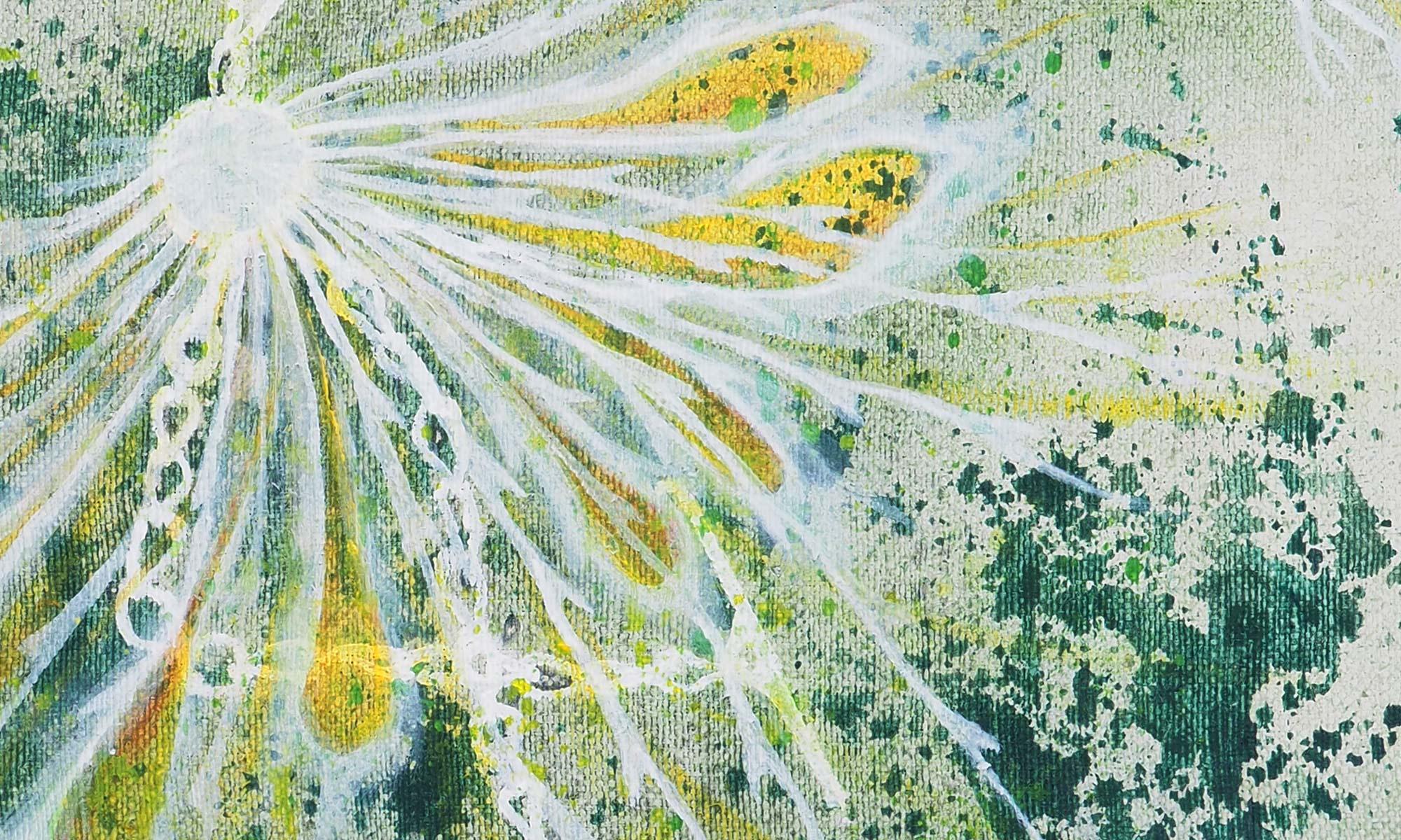 "Iris Lindner: ""Frühling"" (Detail)"