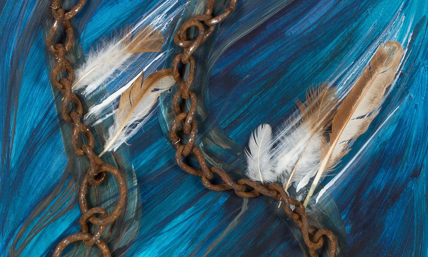 """Iris Lindner: """"Hermes"""" (Detail)"""