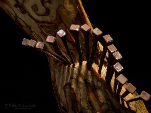 """Iris Lindner: """"Kristallauge"""" (Detail)"""