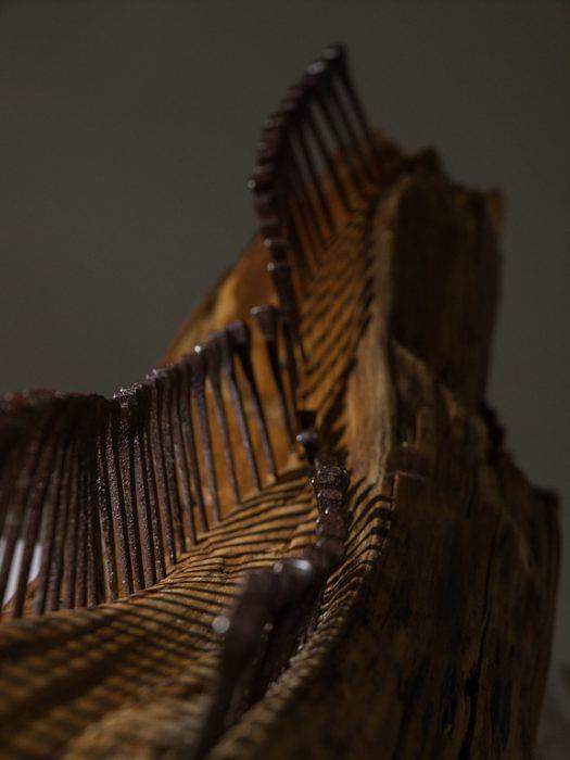 "Iris Lindner: ""Nagelbaum"" (Detail)"